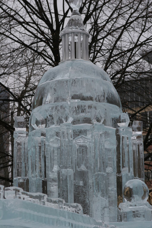 Ice Sculptures At The St Paul Winter Carnival